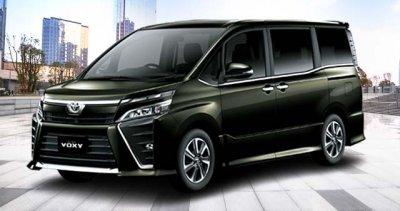Warna Inazuma Sparkling Black Toyota New Voxy Solo