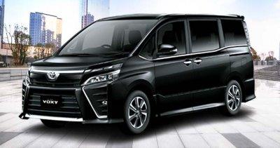 Warna Black Toyota New Voxy Solo